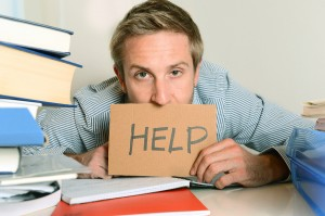 Student with poor study habits asking for help