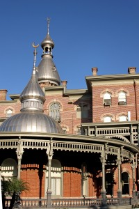 Tower and Facade of University of Tampa