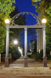 The Arches at the entrance to University of Georgia campus